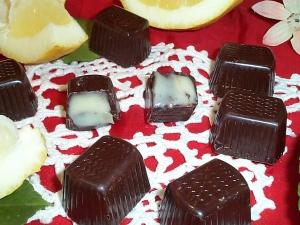 Cioccolatini ripieni crema limone