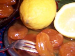 Albicocche al limone