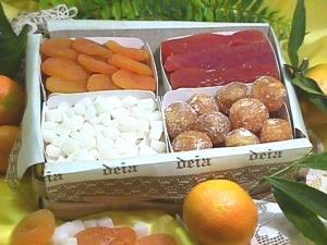 Frutta esotica e disidratata