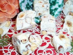 Nocciole al cioccolato bianco