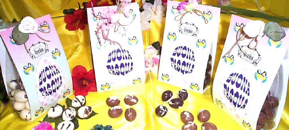 Ovette cioccolato in sacchetto